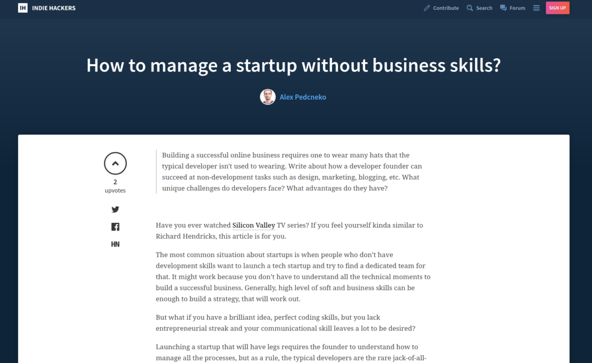 How to manage a startup without business skills